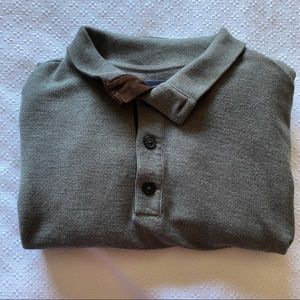 Roundtree & Yorke Button Mock Neck Sweater XL Tall